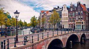drukte Amsterdam