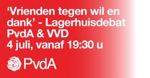 Lagerhuisdebat PvdA & VVD